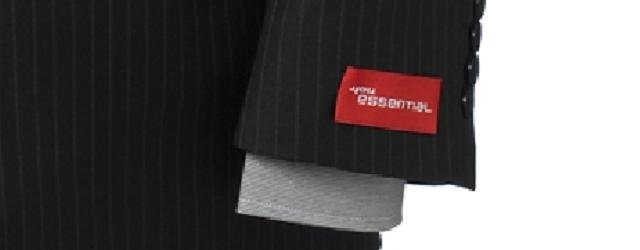 Suit sleeve tags