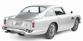 1964 Aston Martin DB5 Rear