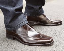 Loake Bryant brown leather shoes