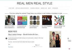 real men real style