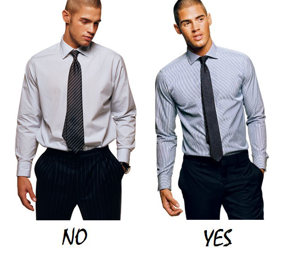 bad fitting men's shirts